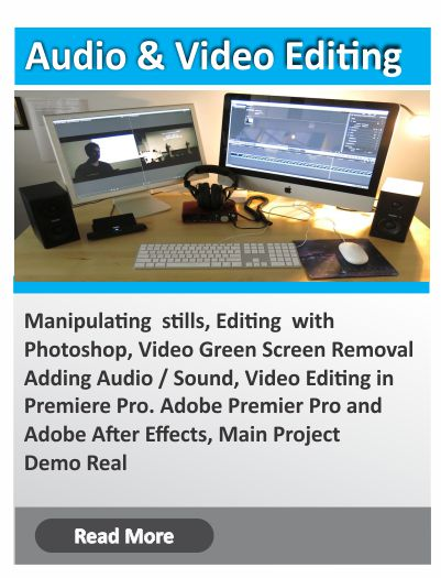 Audio Video Editing training institute in Bangalore